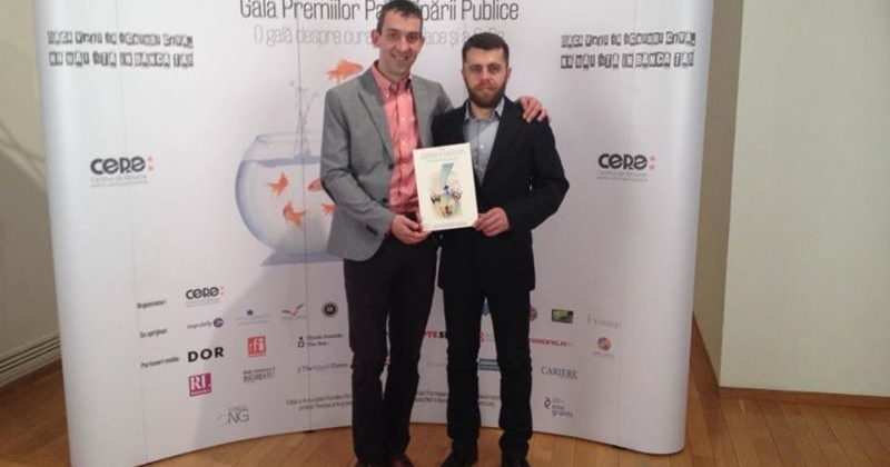 Premiu pentru AMPER la Gala Premiilor Participării Publice