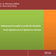 Reducerea birocrației în școli