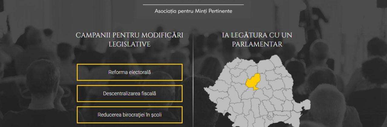 Am relansat partide.amper.org.ro